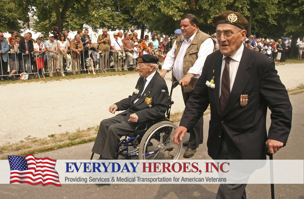 Everyday Heroes supports veterans with service and medical transportation needs
